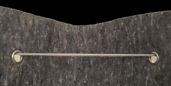Backstop-Netting Maximum Safe Eyelets